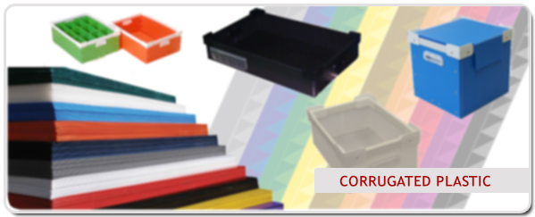 Corrugated Plastic Boxes, Seperators and Displays