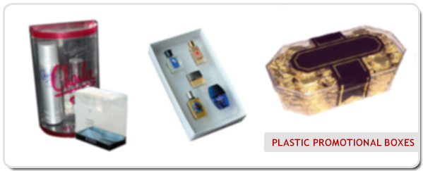 Plastic Promotional Boxes, PVC Box, Acrylic Cut, Clear PS Box